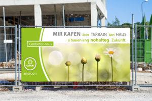 Campagne 'Mir kaafen Ären Terrain'